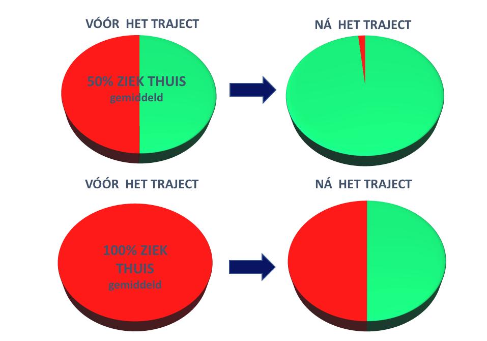Resultaten – 12 weken Vitaliteit traject –  2019